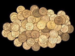 Золотые монеты – это испанская