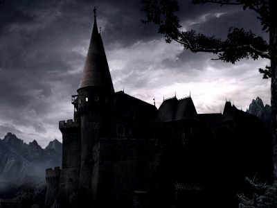 картины темные: