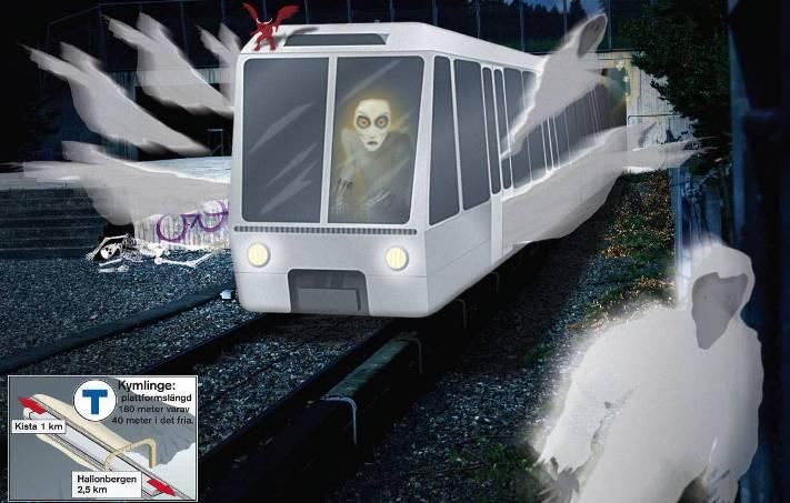 """Призрачный поезд """"Серебряная стрела"""""""