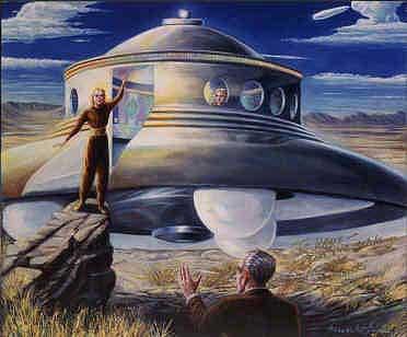 Джордж Адамский – межпланетный странник